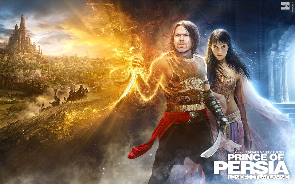 Prince Of Persia 2 The Forgotten Sands Or The Shadow And The Flame Adriaen Valery Burgis Varick Addler